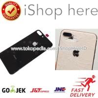 Kaca Belakang Back Glass Cover Back Door iPhone 8 Plus Original -