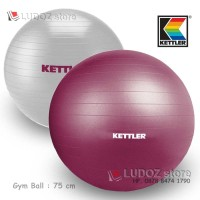Gym Ball KETTLER 75 cm Bola Aerobic fitness Swiss ball gymball 75cm