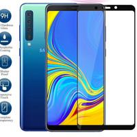 TEMPERED GLASS PREMIUM SAMSUNG GALAXY A9 2018 ANTI GORES FULL COVER