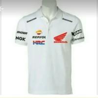 kaos kerah/polo shirt/baju HONDA REPSOL MOTO GP BIG SIZE S-XXXL