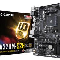 MB GIGABYTE GA A320M-S2H AMD AM4