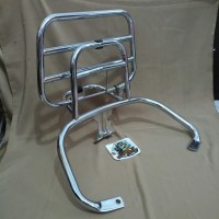 Back rack Vespa S & Lx .. Aksesoris vespa. matic..