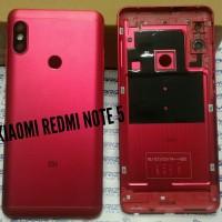 Backdoor/tutup belakang/tutup baterai Xiaomi redmi note 5 Merah