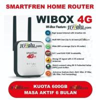 Modem Router Smartfren Wibox 4G Kuota 600GB 6 Bulan