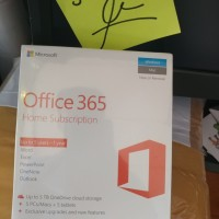 Microsoft Office 365 Home Premium 5 User 1 Year Original