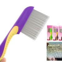 Sisir Kutu Gagang / serit bahan besi rambut bebas ketombe anti kotor