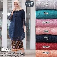 baju atasan kebaya wanita dinda broklat muslim modern modis lucu