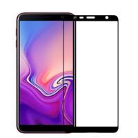 Tempered Glass Full Lem Samsung J6 Plus + / J610 Anti Gores Kaca Warna
