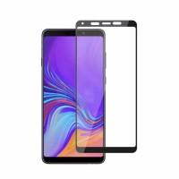 Tempered Glass Full Lem Samsung A9 2018 Anti Gores Kaca Full Cover