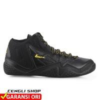 Sepatu Basket LEAGUE Levitate Original All Full Black