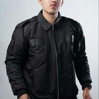 Jaket Bomber Jumbo Big Size Ukuran Besar POLISI-Army-Jokowi-Pilot - 3XL