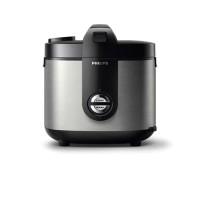 Rice cooker Philips HD 3128 33 Hitam Chrome
