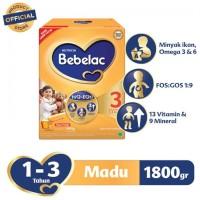 Bebelac 3 Madu / Vanila 1800 gr (1,8kg)