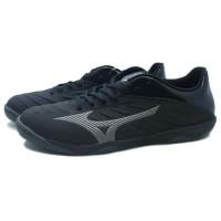 Sepatu Futsal Mizuno Rebula Sala Black Dark Shadow