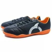 Sepatu Futsal Ortuseight Mirage IN Black White Orange