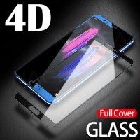 5D 4D Tempered Glass FULL COVER Huawei Honor 9 LITE Kaca Anti Gores