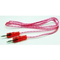 Kabel Audio AUX 1-1 Jack 3.5mm Color full 1.5 Meter