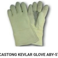 Sarung Tangan Anti Panas 500 Derajat Castong Kevlar Glove ABY-5T