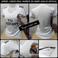 Jual Jersey Baju Bola Real Madrid Ladies Cewek Wanita Perempuan