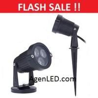 LAMPU LED SOROT 3W TAMAN TANCAP 3 W WATT MATA SPOT GARDEN OUTDOOR 5 7