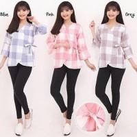 Joya Atasan blouse wanita jumbo fit to XL
