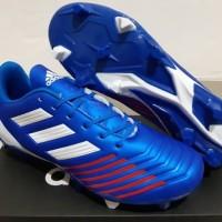 Sepatu Bola - Soccer Adidas Predator New Look Blue White Red - FG