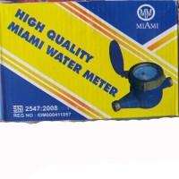 Meteran air Miami / Water meter 1/2 body besi
