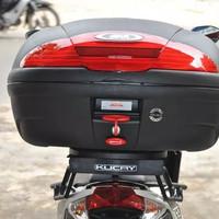 AKSESORIS MOTOR BOX GIVI E45 N NONSTOP LAMP KAPASITAS 45 LITER 2 HELM