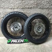 Wheelset CRF 150 17 300 350 - Paket Ban Supermoto Model CRF 250