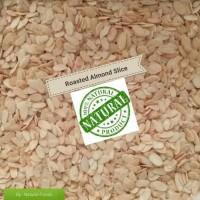 Roasted Almond Slice (Kacang Almond Panggang) 250 Gr