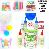 Paket Alat dan Bahan Membuat Pembuat Pembuatan Mainan Squishy Maker