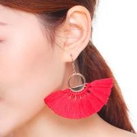 Anting Korea New Retro Bohemian Earrings Cross Border Tassel AP5005
