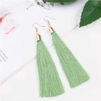 Anting Korea Bohemian Retro Tassel Ear Hook Earrings J4U691