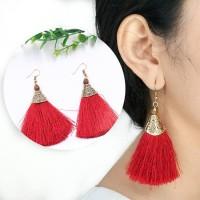 Anting Korea Bohemian Folk Tassel Earrings AP3303