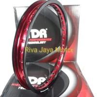 Ring Rim Velg Tdr 160 - 17 W Mirror Dua Tone Hitam Merah