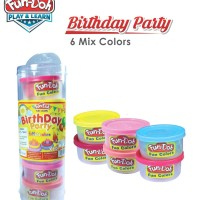 MAINAN EDUKASI ANAK REFILL LILIN FUNDOH. BIRTHDAY PARTY 6 Mix Colors