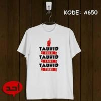 Kaos Islami / Tauhid / Kaos Muslim / Kaos Dakwah / Kaos Distro