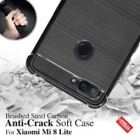 Anti Crack Soft Case Xiaomi Mi8 Mi 8 Lite Softcase Casing Cover Jelly