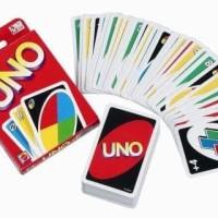 Mainan Edukasi UNO CARD / KARTU UNO POLOS