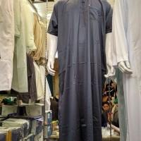 jubah pria ori saudi IKAF lengan pendek