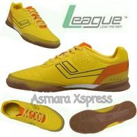 League Original Legas Meister LA M Sepatu Futsal - Yellow
