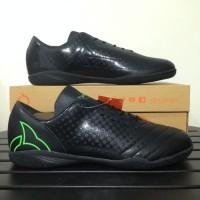 Sepatu Futsal Ortuseight Utopia IN Black Fluo Green Original