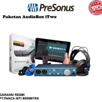 PAKET ALAT RECORDING PRESONUS AUDIOBOX iTWO USB/IPAD