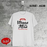 Kaos Muslim Ustman Bin Affan | Kaos Dakwah | Kaos Islami | Kaos Distro