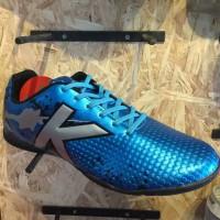 Sepatu Futsal KELME Star Evo Sky Blue Silver Original New 2017