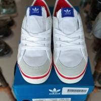 Flash Sale Sepatu Sneakers Pria Adidas Nizza LO White Royal Blue Red