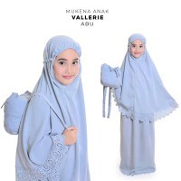 Mukena Anak Baby Silk Valerie ( Tas Ransel)