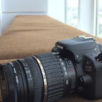 Canon 100D - Lensa Tamron 18-200 For Canon