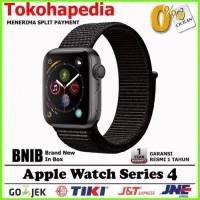 Apple Watch Series 4 44mm Black Space Grey Sport Band Loop MU6E2