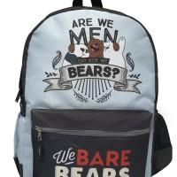 We Bare Bear Large Backpack (We Are Men)